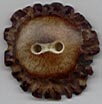 brown antler crown button