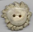 white natural antler crown button