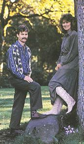 contemporary men's women's moccasins