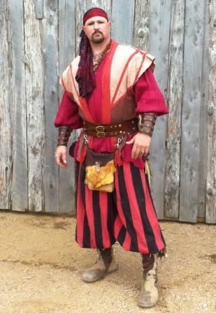 men's pirate buffalo moccasins