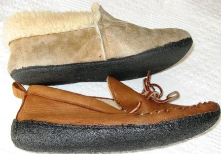 goop on slippers