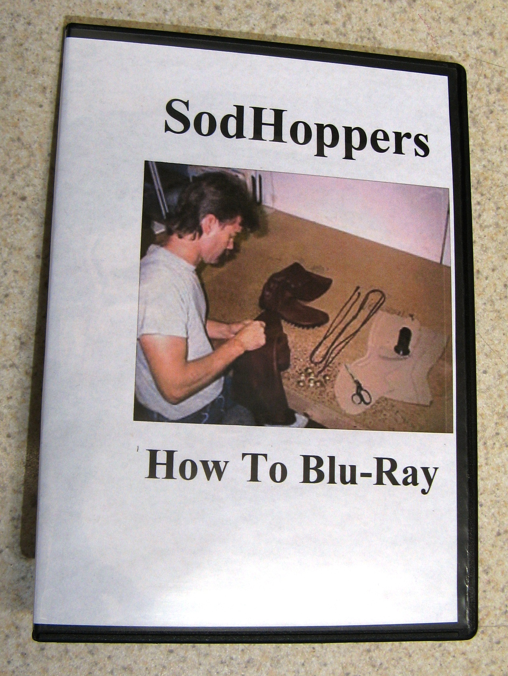 case sodhoppers how to make moccasins blu-ray