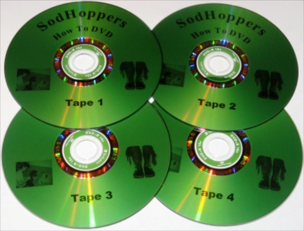 sodhoppers how to make custom moccasins DVD's