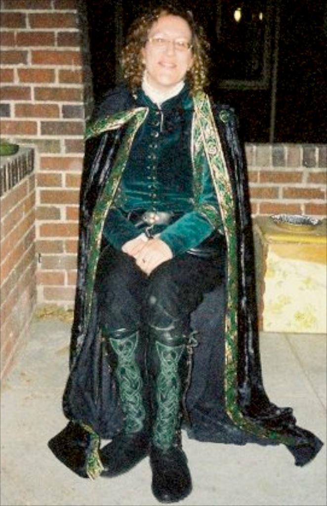 women's celtic knee high court boots