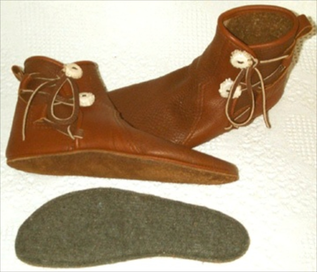 buffalo leather sole moccasins insoles