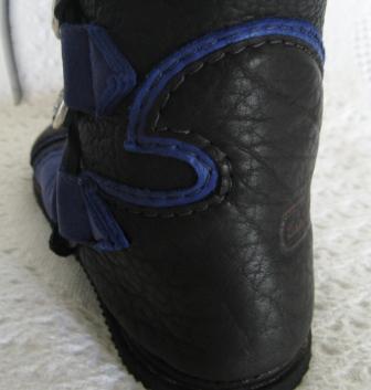 blue deer mirror edge heel cap