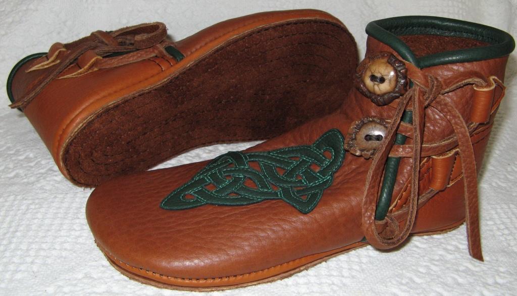 Celtic Knot Moccasin