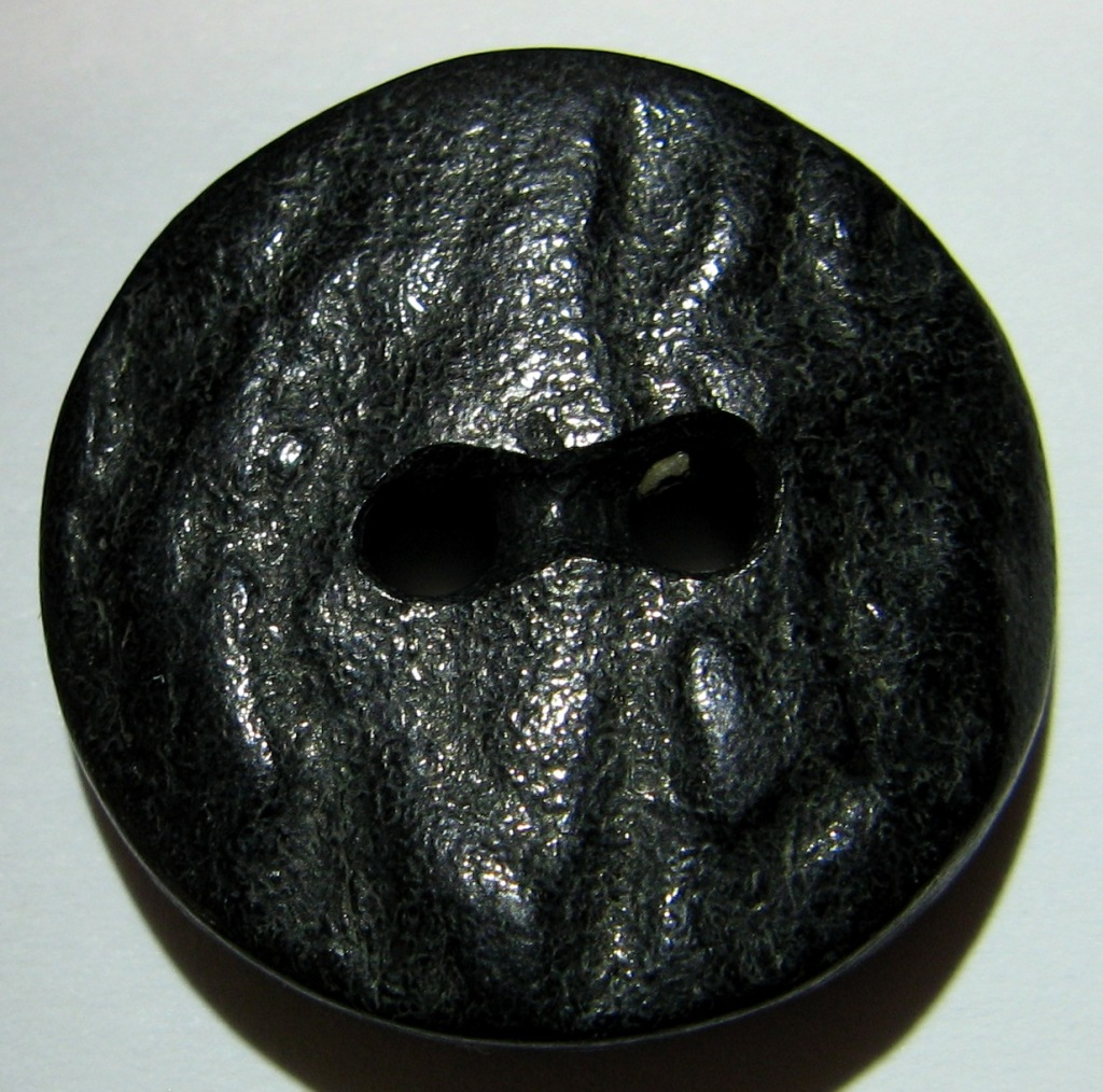 black antler side cut button