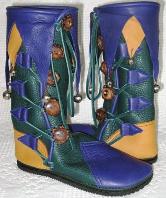 jester moccasins boots